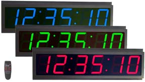 led digital clock master slave clock digital timer