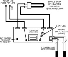 differential thermostat dsd
